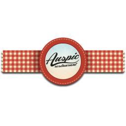 Logo Auspic - reštaurácia na brehu Dunaja